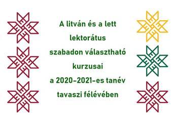 A litván és a lett lektorátus közismereti kurzusai