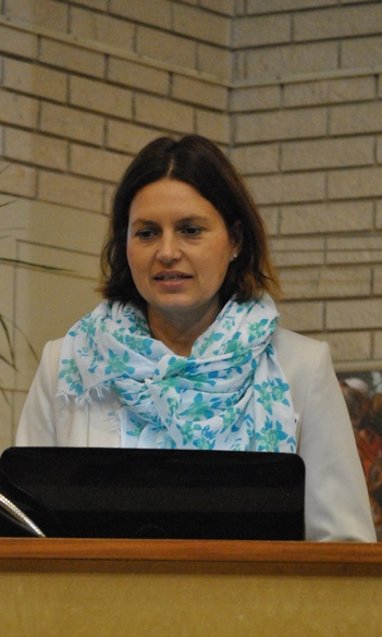 Dr. Dudás Mária, szakfelelős, egyetemi adjunktus